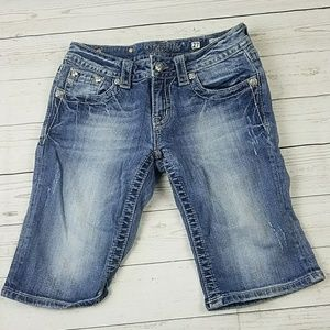 Miss Me Jean's Bermuda Shorts Size 27